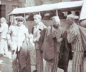Traslado de presos. Plaza de Alcañiz